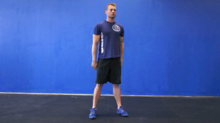 air squats - step 3