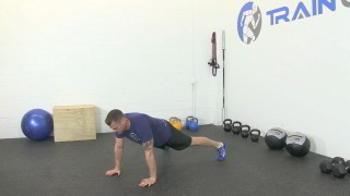 Picture of the full body strength circuit