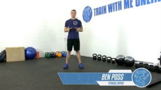 Picture of the upper body dumbbell strength