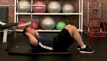 Picture of the body weight work out #2