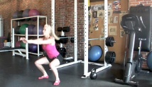 Picture of the tabata squat and standing burpee