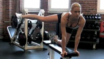 Picture of the the body weight toning workout