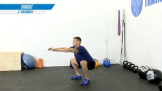 Picture of the train at home  workout program